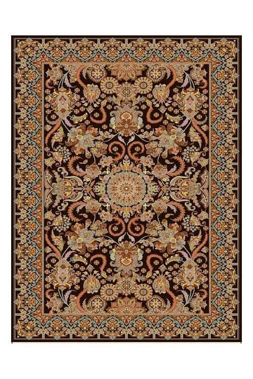 فرش 500 شانه دیبا طرح سوگند