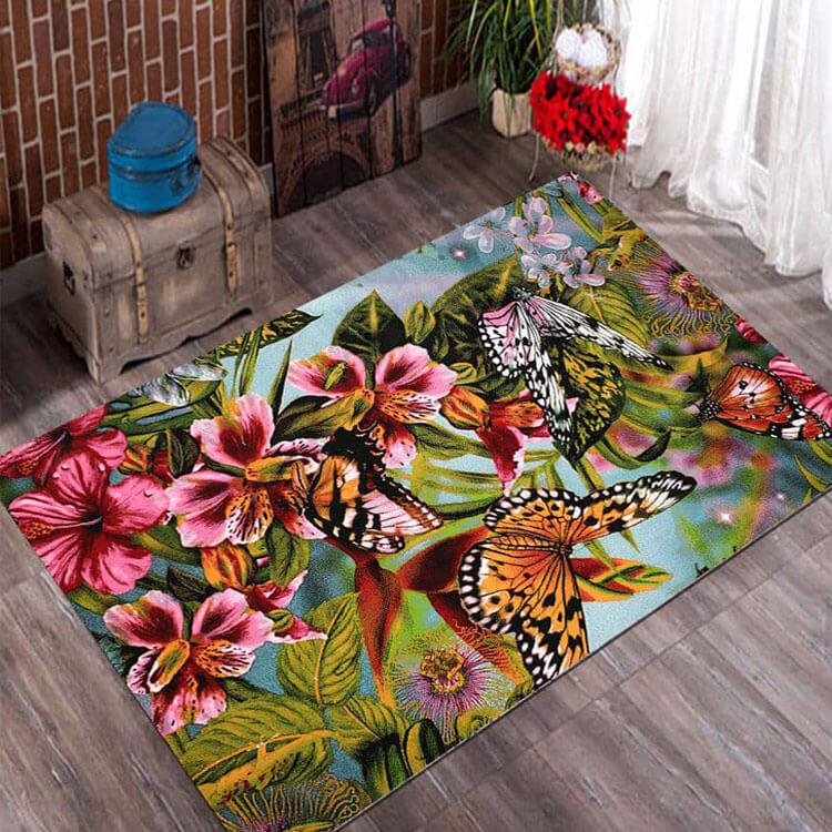 فرش فانتزی فریز ( 3 بعدی ) 4 متری کد 162 , 4 متری