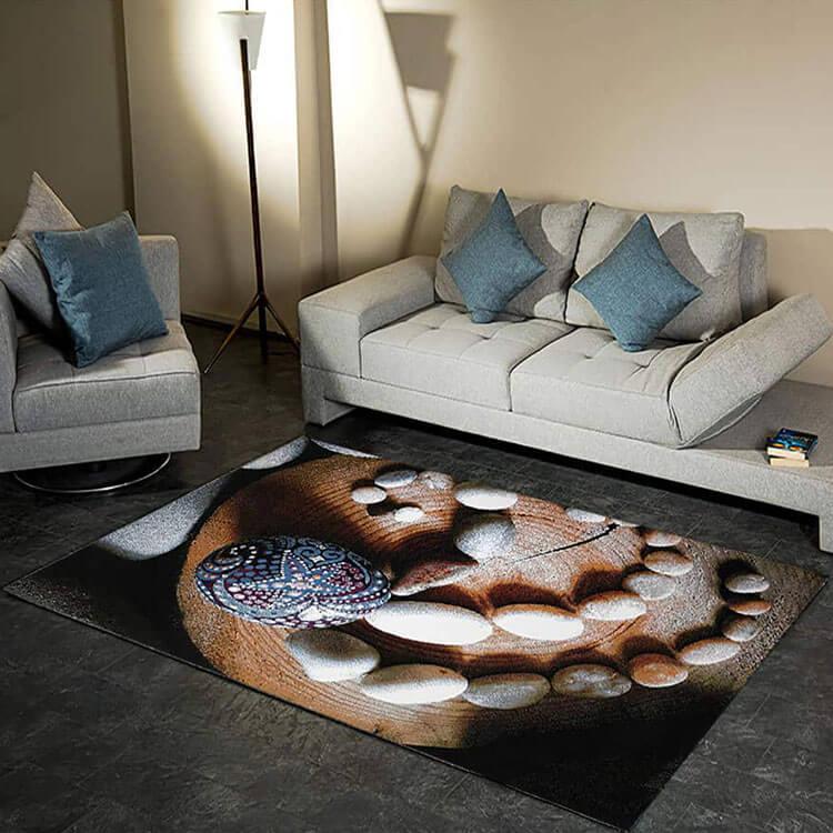 فرش فانتزی فریز ( 3 بعدی ) کد 423 , 4 متری