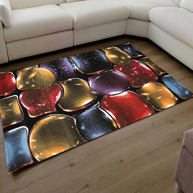 فرش فانتزی فریز ( 3 بعدی ) کد 389 , 4 متری