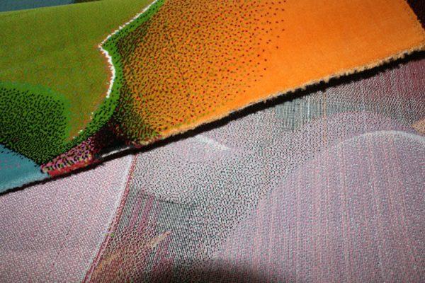 فرش فانتزی فریز ( 3 بعدی ) کد 132 , 4 متری