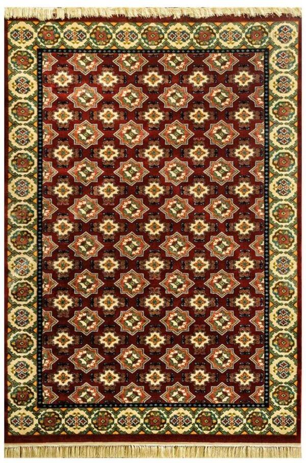 فرش عشایری طرح ترکمن لاکی
