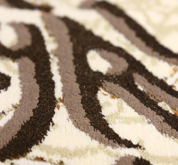 فرش 700 شانه دیبا طرح چلیپا کرم