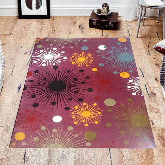 فرش فانتزی فریز ( 3 بعدی ) کد 371 , 4 متری