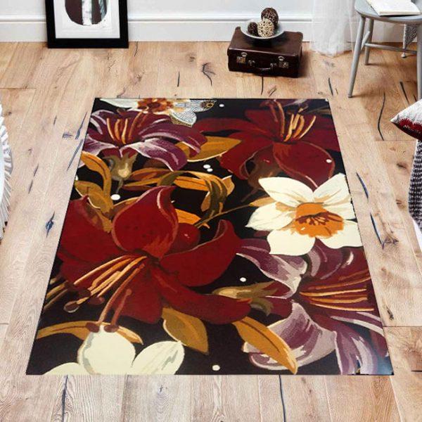 فرش فانتزی فریز ( 3 بعدی ) کد 372 , 4 متری