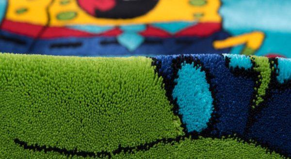 فرش فانتزی اتاق کودک طرح باب اسفنجی
