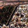 فرش 700 شانه طرح کهکشان زمینه سرمه ای