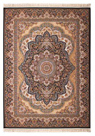 فرش 700 شانه طرح ونوس زمینه سرمه ای