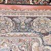 فرش 700 شانه طرح آفرینش زمینه مشکی