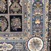 فرش 1200 شانه پنجاه رنگ مشهد اردهال کد 83 مشکی