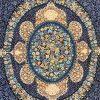 فرش 1200 شانه پنجاه رنگ مشهد اردهال کد 88 اطلسی