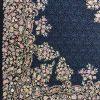 فرش 1200 شانه پنجاه رنگ مشهد اردهال کد 86 مشکی