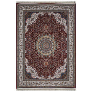 فرش محتشم 1200 شانه طرح سهراب عنابی