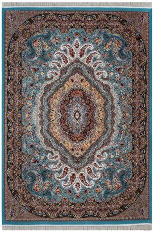 فرش محتشم 1200 شانه طرح امیر آبی