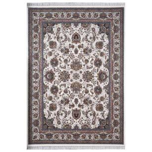 فرش ماشینی 1000 شانه محتشم طرح یاشار زمینه کرم