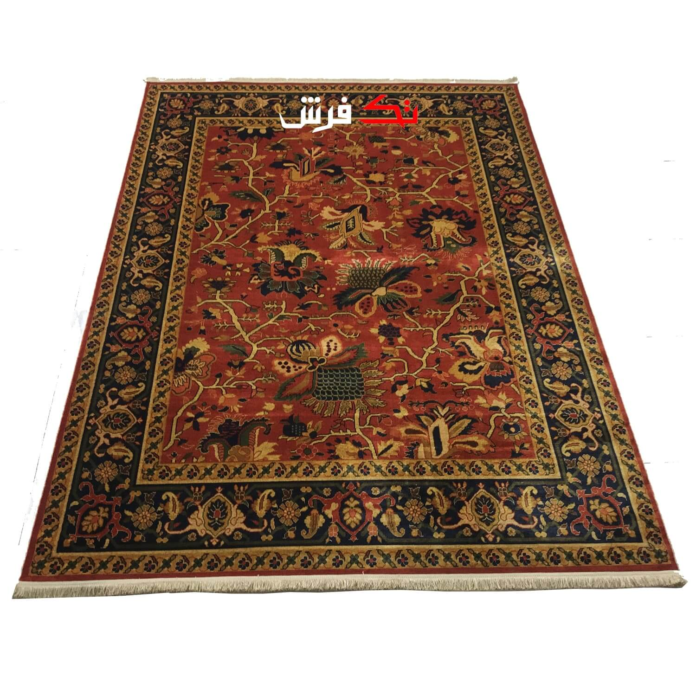 فرش ماشینی طرح دستباف نقشه بلوچ کد 0001