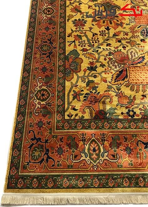 فرش ماشینی طرح دستباف نقشه بلوچ کد 0005