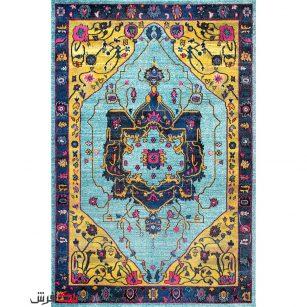 فرش ماشینی طرح فرش دستباف نقشه اصیل کد 0007