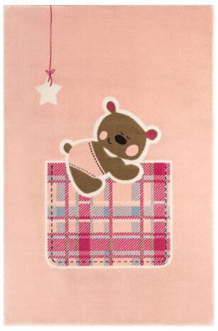 فرش ماشینی اتاق کودک طرح خرس کد 0012