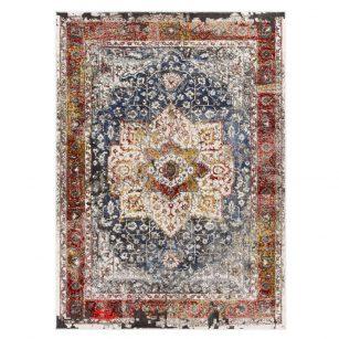فرش ماشینی کلکسیون کهنه نما ( وینتیج ) کد Q00011