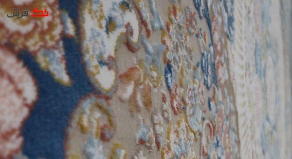 فرش طرح مرجان اطلسی 1200 شانه تراکم 3600 گل برجسته