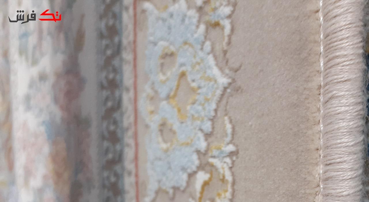 فرش طرح مرجان فیلی 1200 شانه تراکم 3600 برجسته