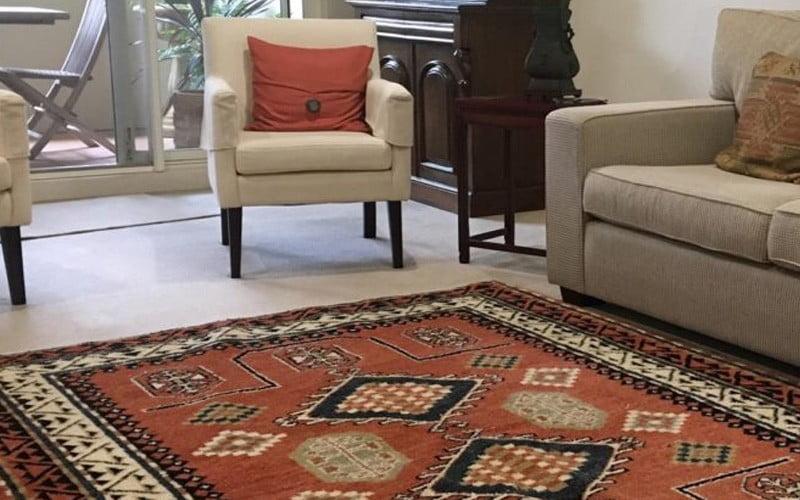 چگونه فضای اتاقهای خود را با فرش ایرانی تزیین کنیم