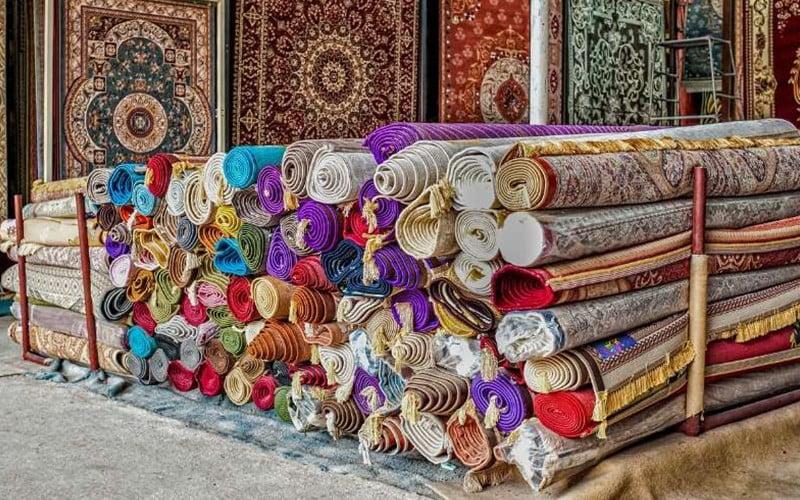 انواع رنگ ها در فرش شرقی نماد چیست ؟