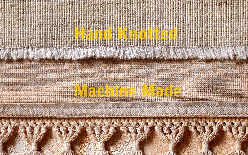 5 روش تشخیص فرش دستبافت از ماشینی