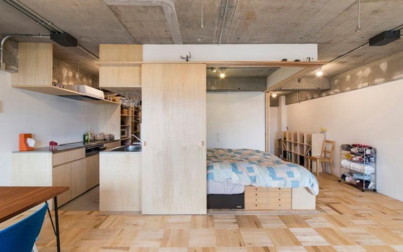 دکوراسیون خانه های 40 , 50 متری و کوچک