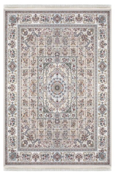 فرش ماشینی داریوش طرح 1310 سیلور ( نقره ای ) 1200 شانه تراکم 3600 برجسته