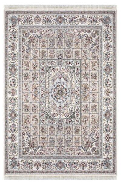 فرش ماشینی داریوش طرح 1310 کرم 1200 شانه تراکم 3600 برجسته
