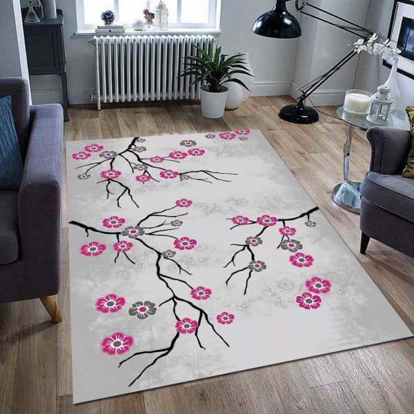 فرش ماشینی کلکسیون فانتزی مدرن کد 1000571