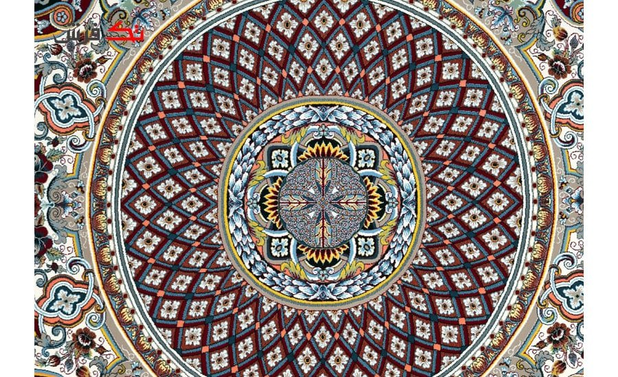 فرش طرح ستاره فیلی , 1000 شانه تراکم 3000