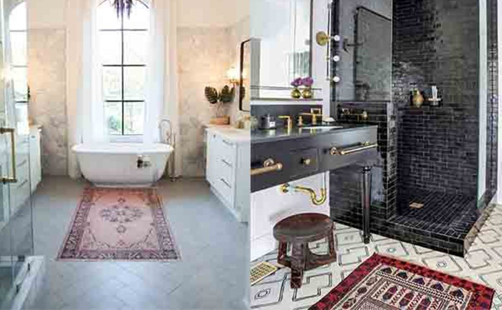 چگونه از قالیچه ی موجود در حمام مراقبت کنیم؟