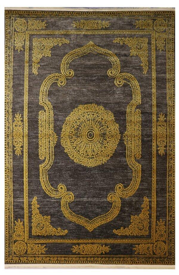 فرش ماشینی کلکسیون کهنه نما ( وینتیج ) کد Q00020