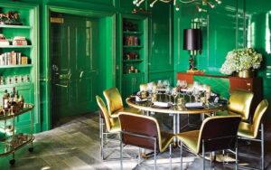 استفاده از رنگ سبز در دکوراسیون داخلی