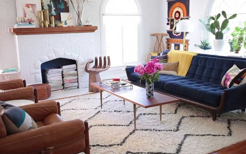 Guide to choosing the color of the carpet that fits the walls