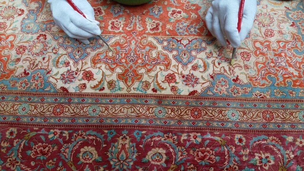 چگونه مشکل رنگ پریدگی فرش را حل کنیم؟