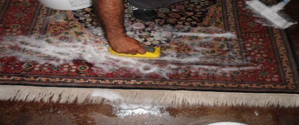 شستشوی فرش دست بافت در منزل