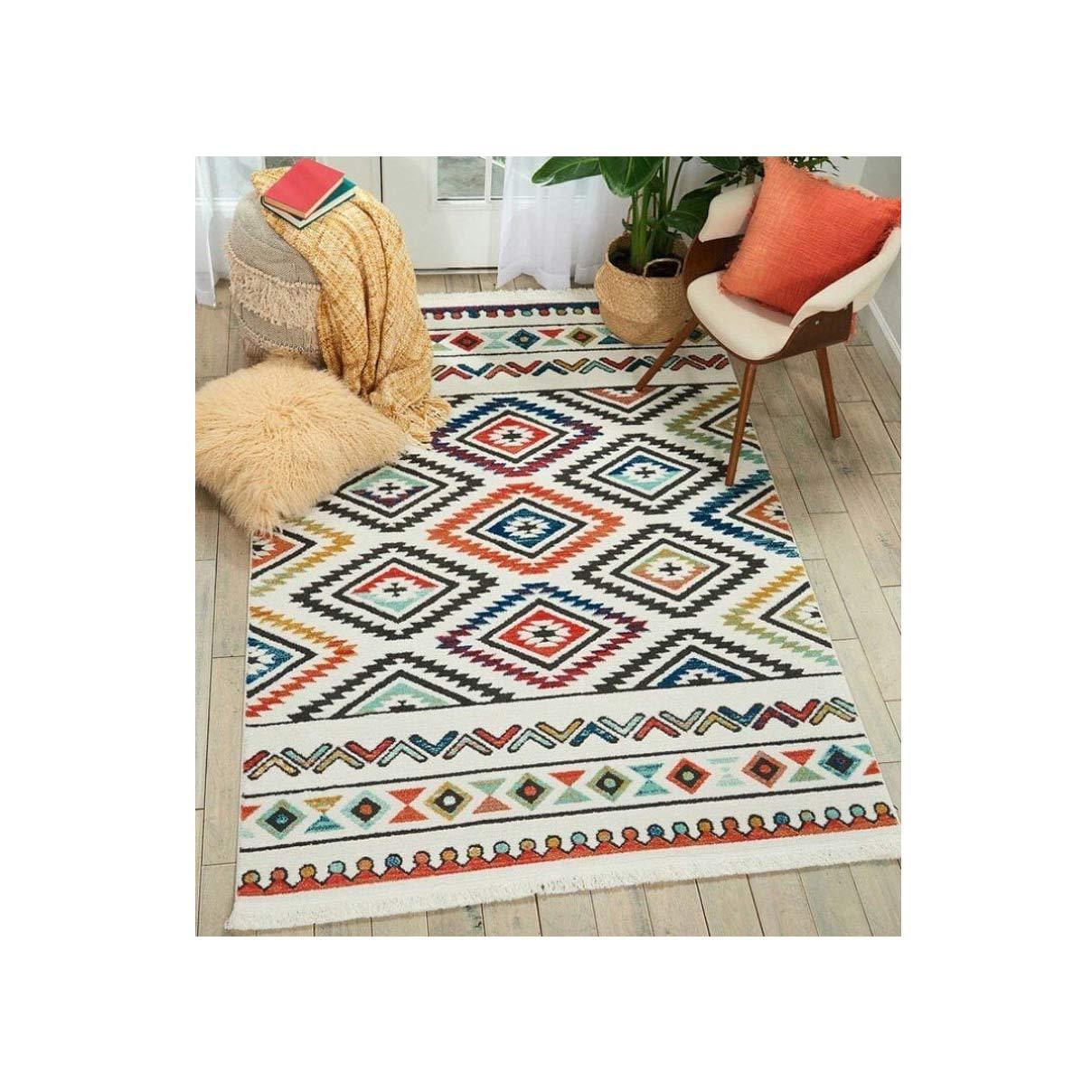 فرش فانتزی کلکسیون مراکشی کد 1108 چند رنگ