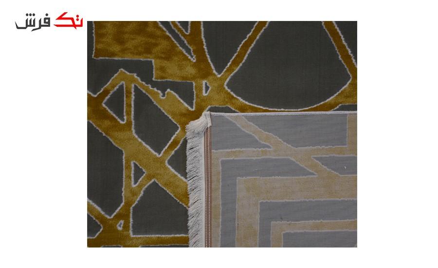 فرش ماشینی کلکسیون کهنه نما ( وینتیج ) کد 11-018-77 برجسته