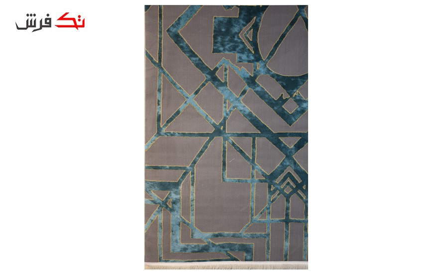 فرش ماشینی کلکسیون کهنه نما ( وینتیج ) کد 15-018-77 برجسته