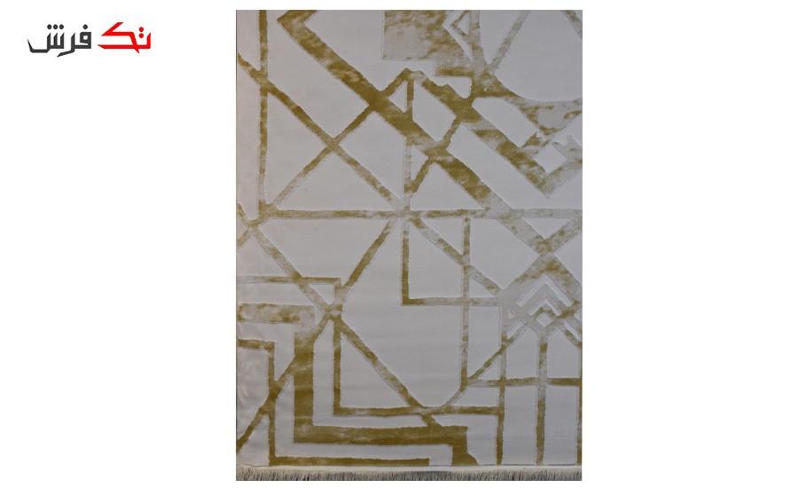 فرش ماشینی کلکسیون کهنه نما ( وینتیج ) کد 14-018-77 برجسته