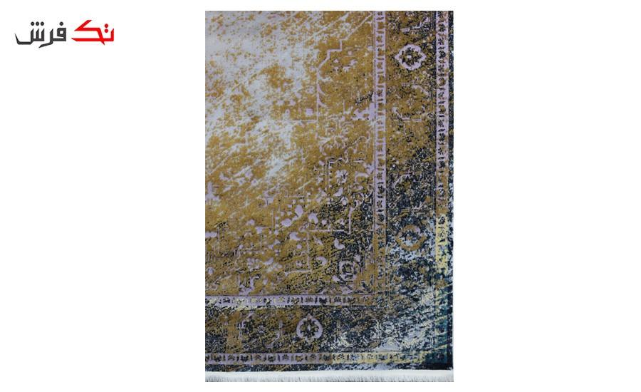 فرش ماشینی کلکسیون کهنه نما ( وینتیج ) کد 32-157 برجسته