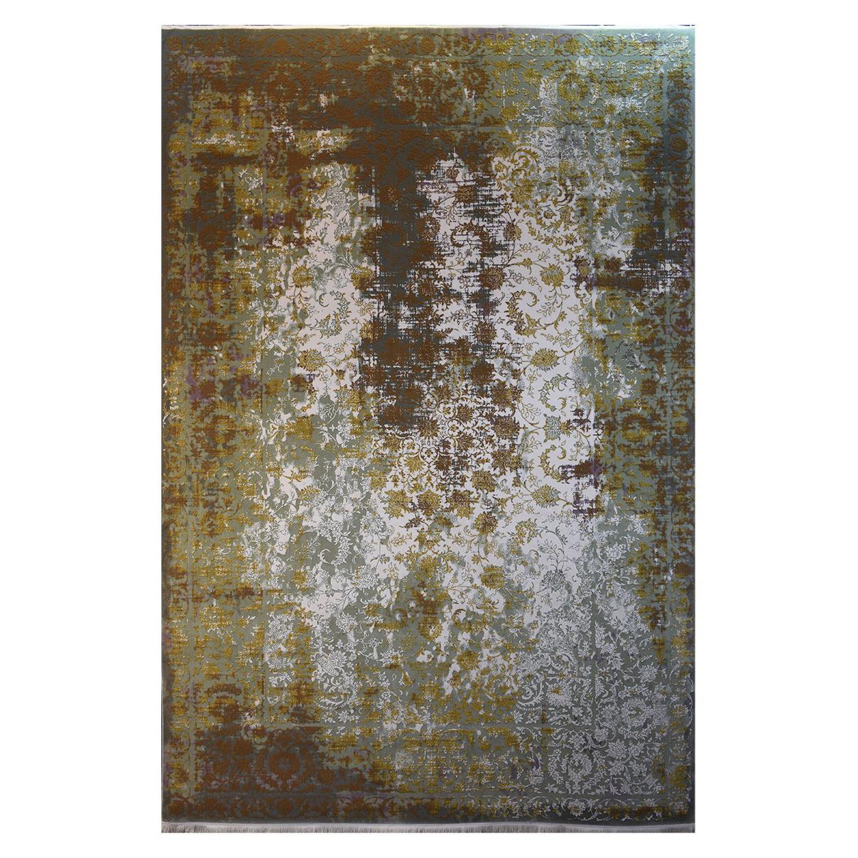 فرش ماشینی کلکسیون کهنه نما ( وینتیج ) کد 11-048-33 برجسته