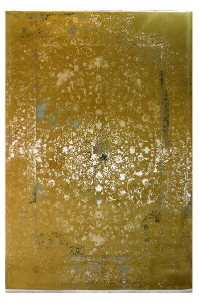 فرش ماشینی کلکسیون کهنه نما ( وینتیج ) کد 25-151 برجسته