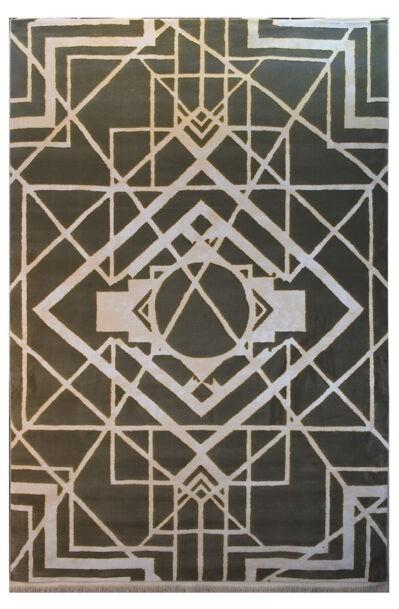فرش ماشینی کلکسیون کهنه نما ( وینتیج ) کد 12-018-77 برجسته