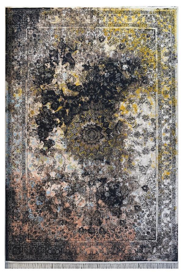 فرش ماشینی کلکسیون کهنه نما ( وینتیج ) کد 11-806 برجسته