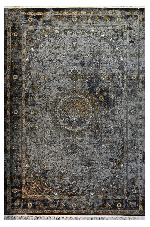 فرش ماشینی کلکسیون کهنه نما ( وینتیج ) کد 12-800 برجسته